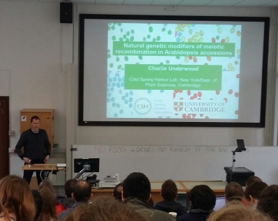 Evolutionary Genetics and Genomics Symposium, Cambridge University