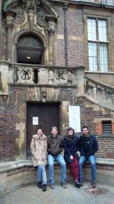 The Hoelzel lab visit Cambridge University
