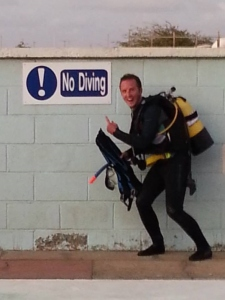 SCUBA diving is not essential for a career in marine biology. I have met marine biologists who can't even swim!
