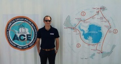 Daniel recently participated in the Antarctic Circumpolar Expedition (ACE).